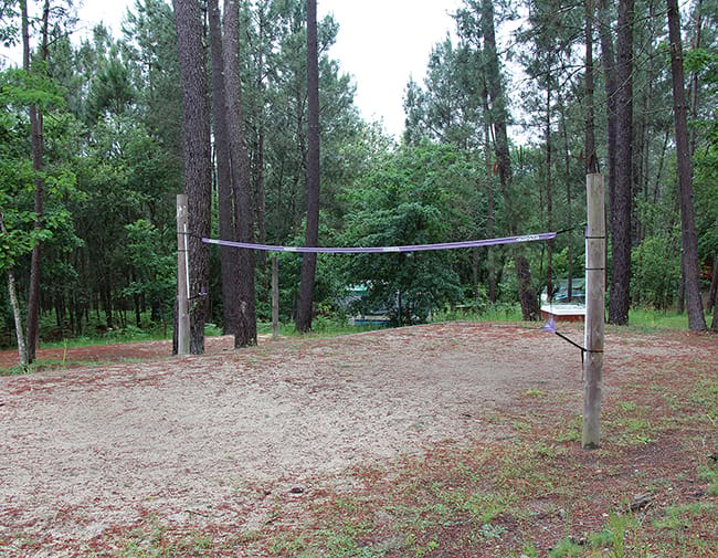 Volleyball playground